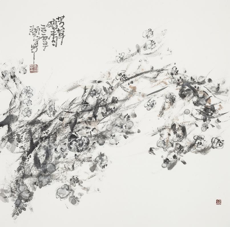 《芳草暗香》68X68
